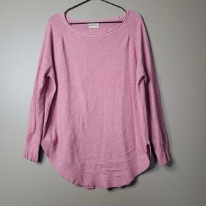 Dreamers Pink Cozy Long Sleeve Sweater